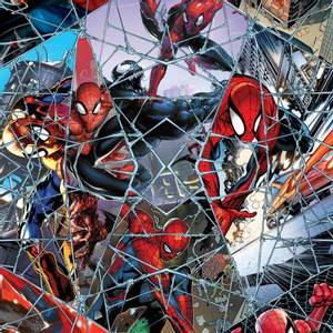 Bilde av Bomull stoff med Spiderman