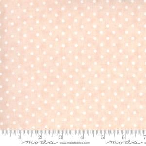 Bilde av Moda fabrics Sanctuary blush prikker
