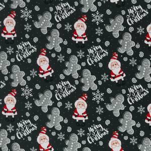 Bilde av French terry Merry Christmas svart