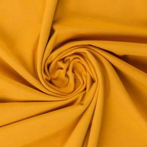 Bilde av Bomullsjersey sennep gul